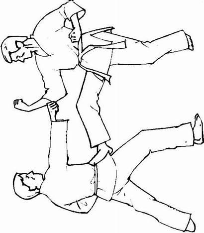 Karate Coloring Pages Kid Fun Printable Library