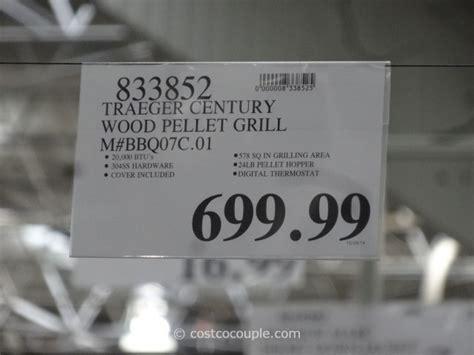 traeger century wood pellet grill