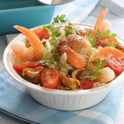 c est au programme recettes cuisine 2 salade de fruits de mer facile recette sur cuisine actuelle
