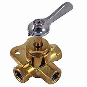 Boat Marine 3 Way Valve 3  8 U0026quot  Fnpt Connects Motor To 2 Fuel
