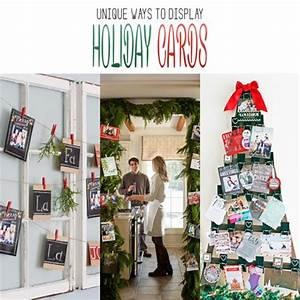 Unique Ways to Display Holiday Cards The Cottage Market