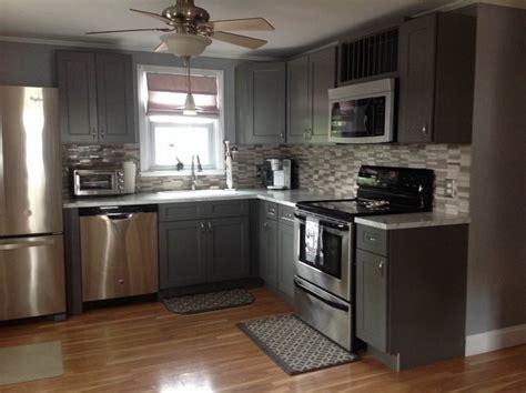 grey shaker cabinets kitchen grey shaker kitchen cabinets modern kitchen
