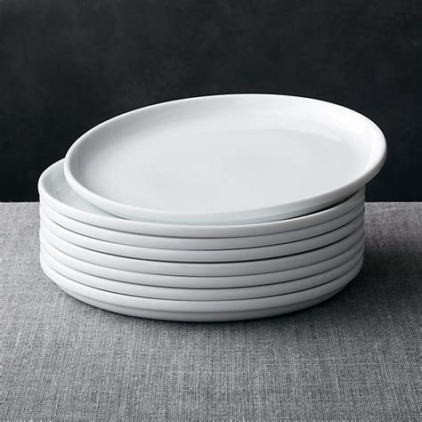 set   logan stacking dinner plates reviews crate