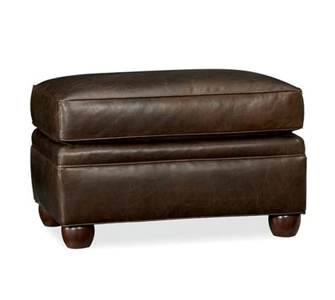 pottery barn leather ottoman pottery barn leather furniture sale save 15 on leather