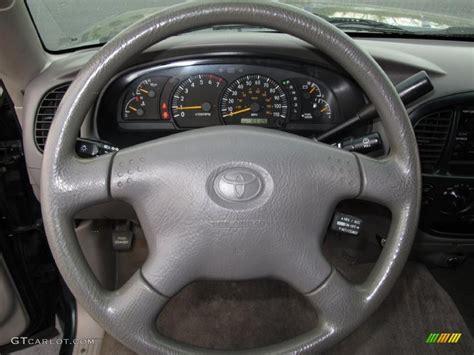 toyota steering wheel 2002 toyota tundra sr5 access cab gray steering wheel