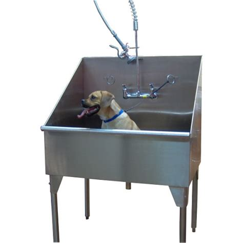 dog washing sink stainless stainless steel dog grooming sink