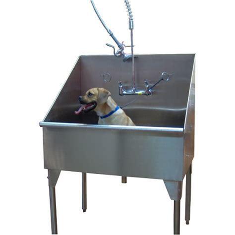 Stainless Steel Dog Grooming Sink