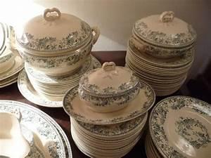 Service Vaisselle Porcelaine : service de table gien ancien ~ Teatrodelosmanantiales.com Idées de Décoration