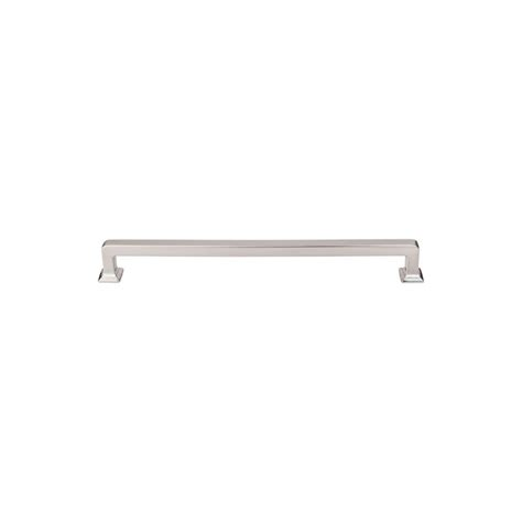 top knobs cabinet pulls top knobs tk706bsn brushed satin nickel ascendra 9 inch