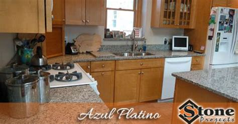 azul platino granite countertops fabricated and installed