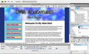 dreamweaver layout templates - teaching kids dreamweaver