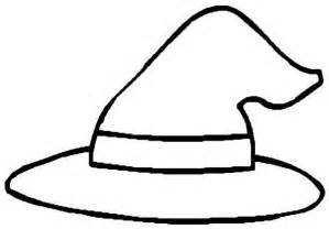 witch hat coloring page clipart best clipart best
