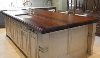 countertop for kitchen island heritage wood island in black walnut modern kitchen countertops atlanta by artisan