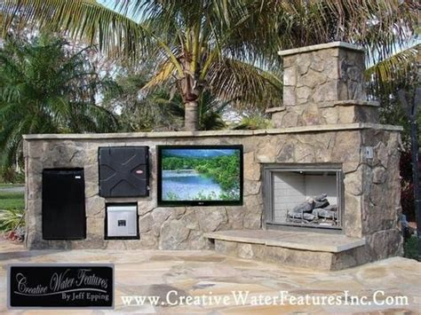 Creative Water Features Outdoor Entertainment Center Yelp