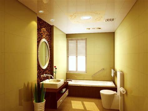 18 Cool Yellow Bathroom Designs