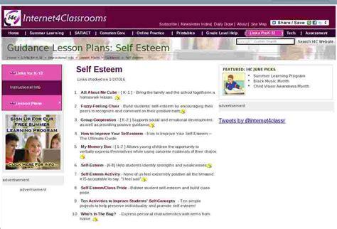 self esteem guidance lesson plan resources at 4 845 | self esteem guidance counselor lesson plans