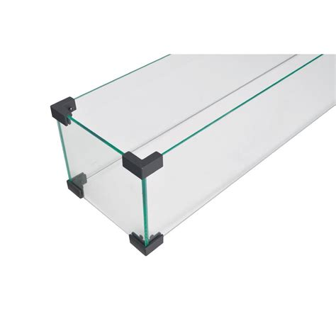 A glass guard helps prevent that wind from blowing flames around. Legacy Heating Wind Guard Fire Pit Glass Shield & Reviews ...