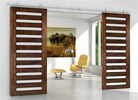 Modern Barn Doors by Using Barn Doors As A Statement In Interior Design