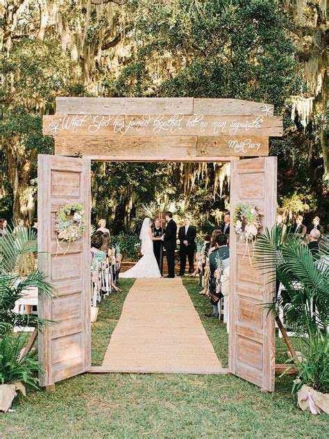 used rustic wedding decorations for sale how to build a wedding arch from doors search wedding ideas
