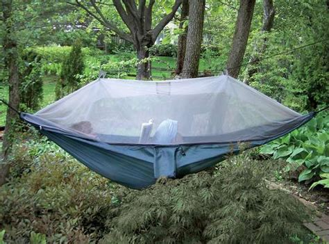Hammock With Fly And Bug Net by Comfy Canopy Covered Cing Netted Cocoon Hammock