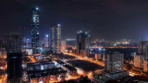 Wallpaper City By Night