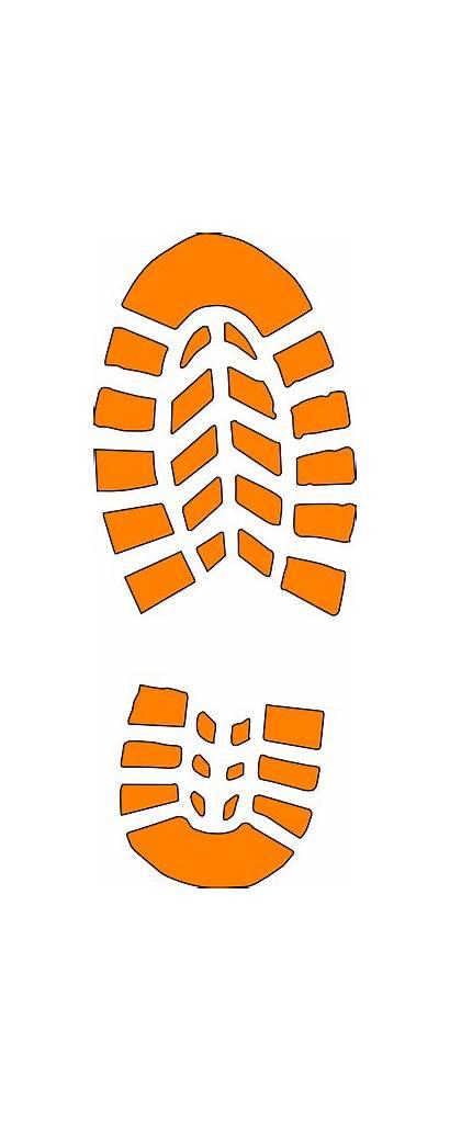 Boot Pink Orange Brown Clip Clipart Vector