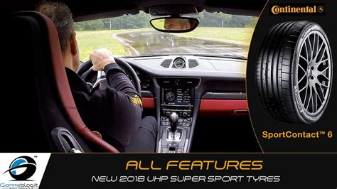 continental sportcontact  super sport car tyres youtube