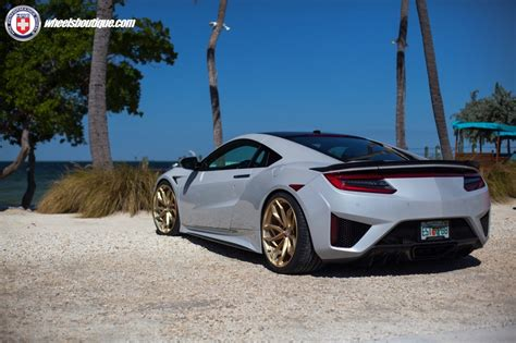 acura nsx on hre p201 gallery wheels boutique