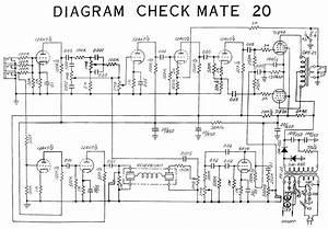 Teisco Checkmate 20 Diagram