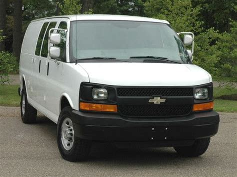 automobile air conditioning service 2008 chevrolet express 3500 electronic throttle control find used 2008 chevy express g3500 155 quot wb extended cargo clean in butler pennsylvania