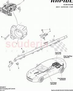 Aston Martin Rapide Fuel Charging And Controls Parts