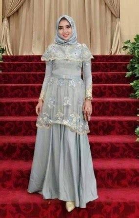 kebaya dress brokat muslimah  pesta kondangan