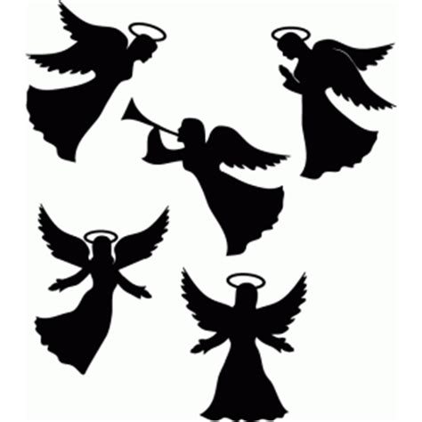 silhouette design store view design   flying angels