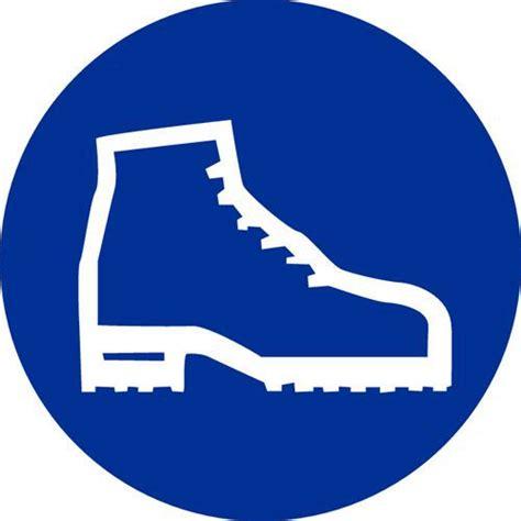 bureau de contr e obligatoire panneau d 39 obligation port de chaussures de sécurité