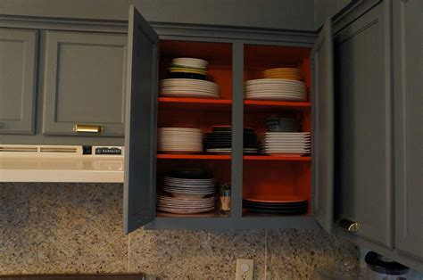 how to paint inside kitchen cabinets do you have to paint the inside of kitchen cabinets