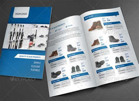 Product Brochure Template Free 18 Cool Product Promo Brochure Templates Desiznworld