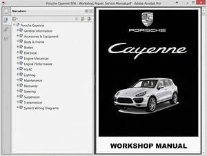 Porsche Cayenne 92a - Service Manual