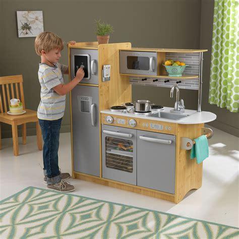 natural play kitchen boys girls pretend kids toy set smart sturdy cooking fun  ebay