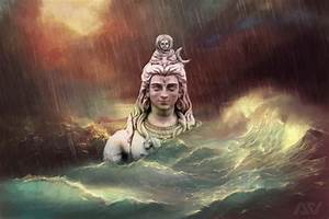 Lord Shiva and River Ganges by amnvohra on DeviantArt