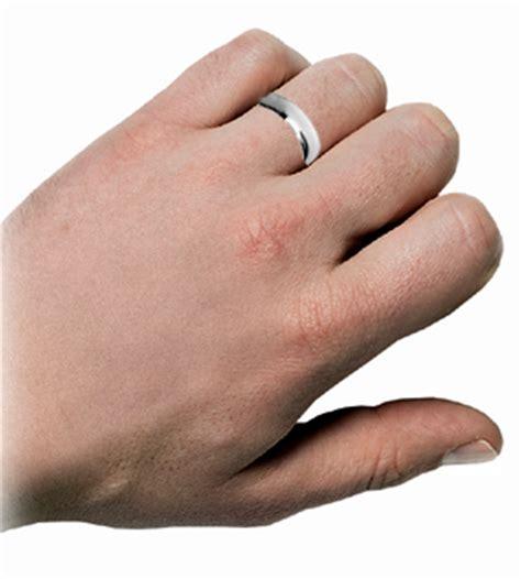 brand  platinum medium weight wedding ring band