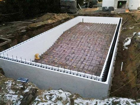 daylight basement plans icf swimming pools buildblock insulating concrete forms