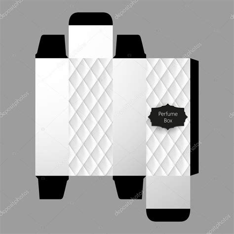Parfüm Doboz Sablon Design — Stock Vektor © Droidworker