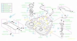 2015 Subaru Outback 2 5l Cvt Limited W  Eyesight Fuel Pump