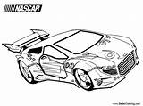 Nascar Coloring Printable Adults sketch template