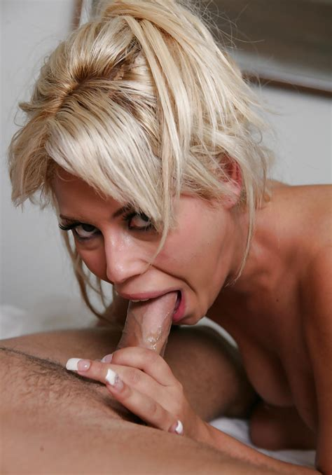 Blonde Spanish Milf With Big Boobs Facialized After Gives