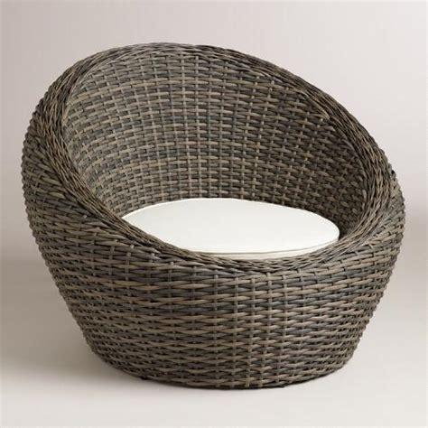 all weather wicker formentera egg outdoor chair world market