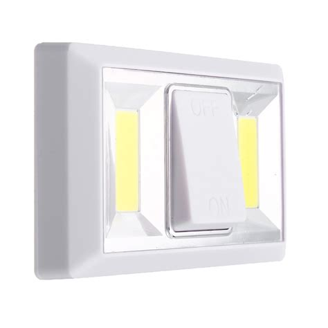 magnetic switch for led lighting magnetic 2 cob led closet garage light indoor wall switch