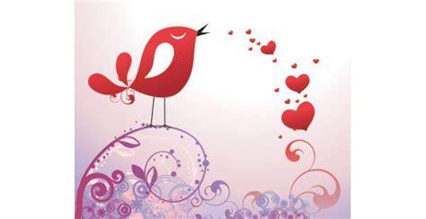 pretty bird  hearts  valentines day cards