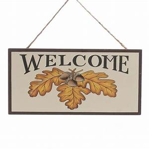 """Autumn """"Welcome"""" Sign - Wall Art - Fall and Halloween ..."""