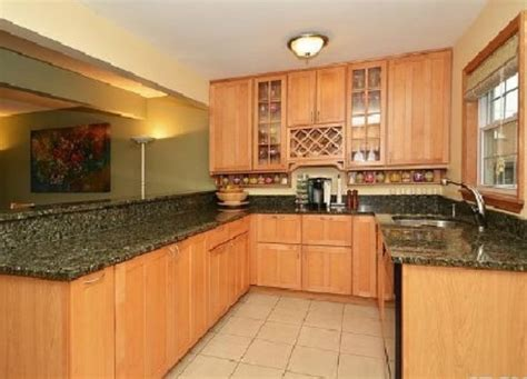 picture of cabinet in the kitchen maple cabinets green granite kitchen for the home 9097
